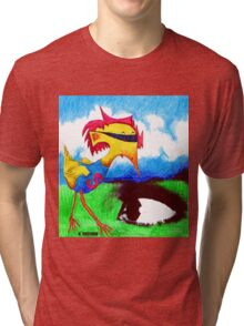 Super Bird Tri-blend T-Shirt