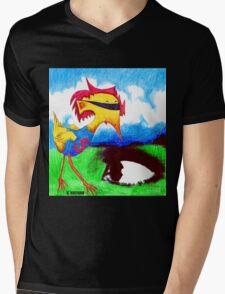 Super Bird Mens V-Neck T-Shirt