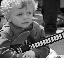 Mini Guitarist by LozengePhotoArt