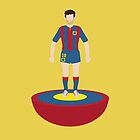Messi subbuteo by alexsantalo