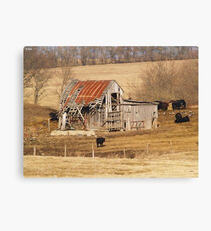 Favorite Barn Canvas Print