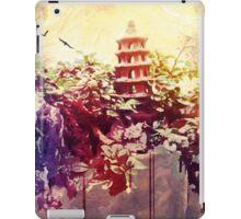 Tower in Bonsai Garden 3 iPad Case/Skin