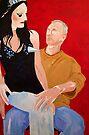 Cindy Pastel/Ritchie Finger by John Douglas