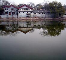 Near Forbidden City, Beijing by John Douglas