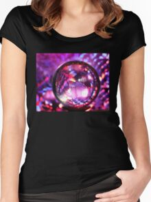 Crystal Ball Future Women's Fitted Scoop T-Shirt