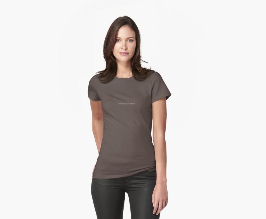 ceci n'est pas une tee-shirt by Alx West