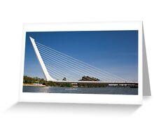 Alamillo Bridge, Sevilla, Spain Greeting Card