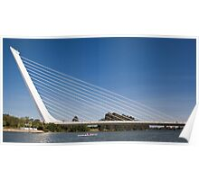 Alamillo Bridge, Sevilla, Spain Poster