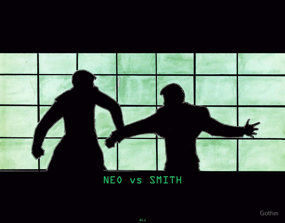 Neo vs Smith by Gothm