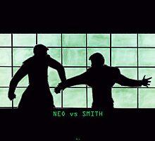 Neo vs Smith by Gothm
