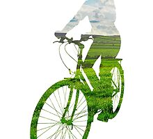 Green Transport 3 by Andrew Bret Wallis
