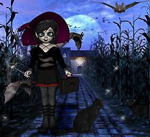 Witchling Daze- Bats in My Belly by Sidhegraphics