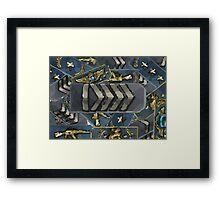 Rankmash Silver elite Framed Print