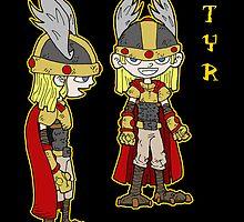 lil' gods: tyr by kangarookid