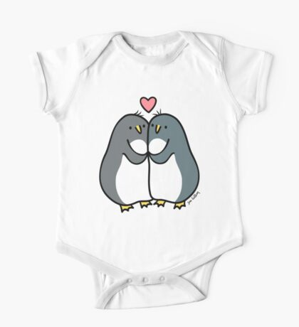 Penguin Love  One Piece - Short Sleeve