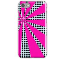 Pop Art Pink Starburst iPhone Case/Skin
