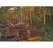 Machine from another time Photographic Print