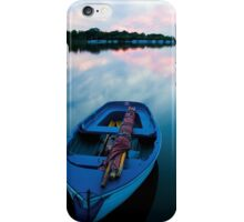 Dinghy at Sunset iPhone Case/Skin