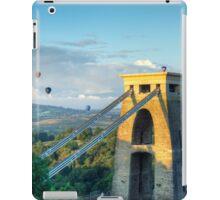 Adrift Over Bristol iPad Case/Skin