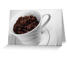 Coffee Cup Greeting Card