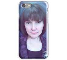 Lady Violet iPhone Case/Skin
