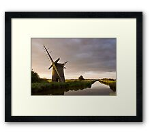 Windmill in Norfolk #1 Framed Print