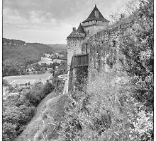 BW France Castelnaud by Steven House