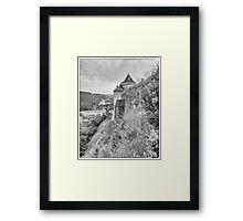 BW France Castelnaud Framed Print