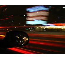 A Night on the Town Photographic Print
