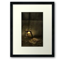 The Basin - HDR Framed Print