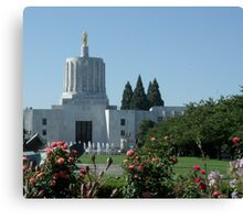 Oregon capital Canvas Print
