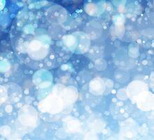 Frozen Ice Bokeh Print by ARTiculatePRINT