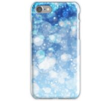 Frozen Ice Bokeh Print iPhone Case/Skin