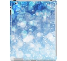 Frozen Ice Bokeh Print iPad Case/Skin