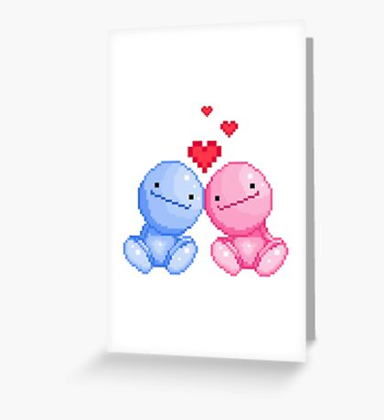Nohohon in love Greeting Card