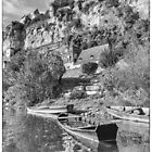 Green River Canoes in B/W by Steven House