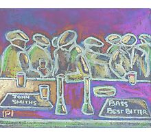 A Crowded Bar Photographic Print