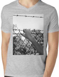 """""""Security or Imprisonment""""  Mens V-Neck T-Shirt"""
