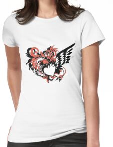 heart&wing Womens Fitted T-Shirt