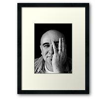 Mic Mac! Framed Print