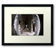 Preah Khan Framed Print