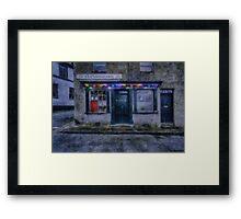 Christmas Post Office Framed Print