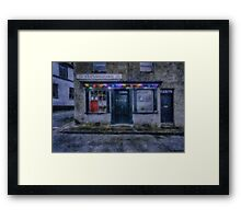 Christmas Post Office Framed Print