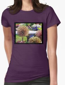 Springtime in the park Womens Fitted T-Shirt