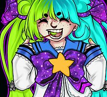 Twinkle Star by reptilebear