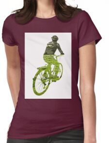 Green Transport 5 Womens Fitted T-Shirt