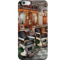 Barber - Frenchtown Barbers  iPhone Case/Skin