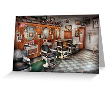Barber - Frenchtown Barbers  Greeting Card