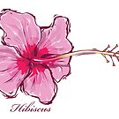 Pink Hibiscus by mikeyfreedom