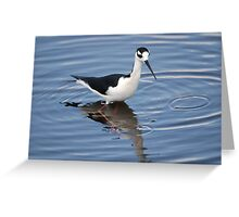 Stilts Run Deep Greeting Card